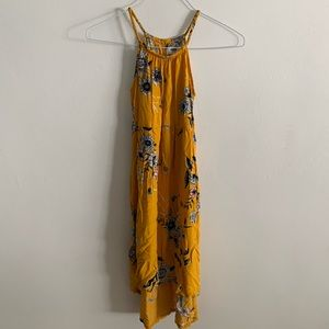 Old Navy High low girls strapped dress 10-12